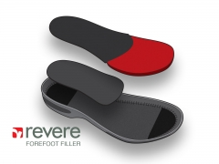 Elevate technical illustration of medical footware